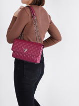 Crossbody Bag Cessily Guess Violet cessily EV767921-vue-porte