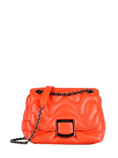 Longchamp Brioche cocoon Sacs porté travers Orange