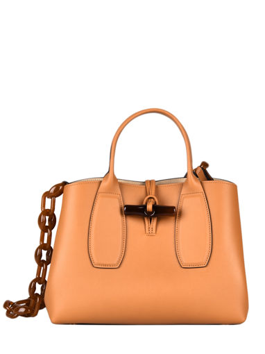 Longchamp Roseau chaÎne Handbag Brown