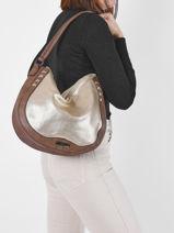Shoulder Bag Gimel Les tropeziennes Gold gimel GIM02-vue-porte