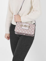 Sac Bandoulière Hensely Guess Rose hensely PB837818-vue-porte
