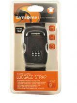 Luggage Belt Samsonite Black accessoires U23002