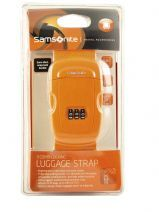 Sangle à Bagage Samsonite Orange accessoires U23002