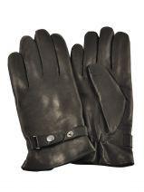 Gants Omega Noir laine 720COP Paire de gants classique avec doublure en laine de la marque Omega.