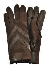 Gloves Isotoner Brown gant 23092A