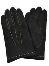 Gloves Isotoner Black gant 68092
