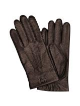 Longchamp Cavalier Gants Marron