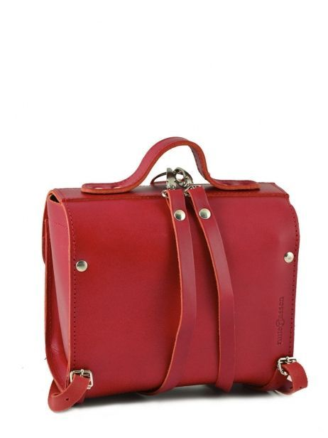 Lunch Bag 1 Compartment Ruitertassen Red classic college 00000014 other view 4