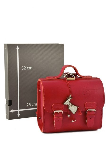 Lunch Bag 1 Compartment Ruitertassen Red classic college 00000014 other view 5