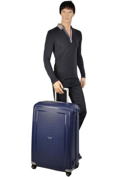 Hardside Luggage S'cure Samsonite Black s'cure 10U002 other view 5