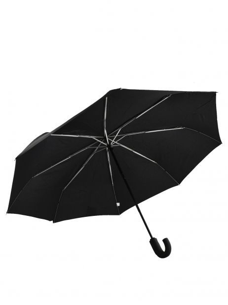 Men's Umbrella Classic Isotoner Black homme 9407 other view 1