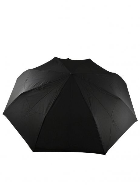 Men's Umbrella Classic Isotoner Black homme 9407 other view 2