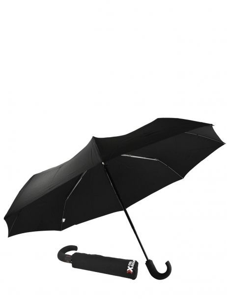 Men's Umbrella Classic Isotoner Black homme 9407