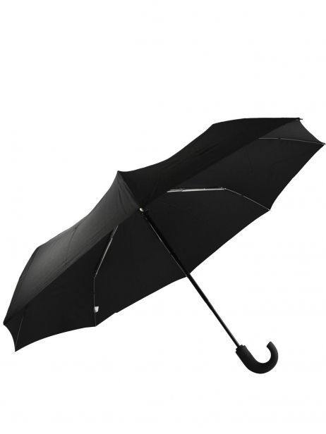 Men's Umbrella Classic Isotoner Black homme 9407 other view 3