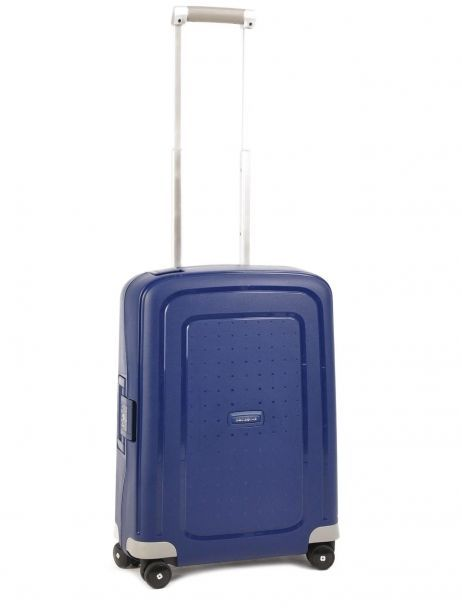 Cabin Luggage Hardside Samsonite Blue s'cure 10U003