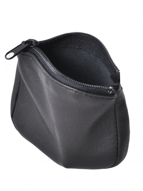 Purse Leather Francinel Black bruges 67946 other view 3