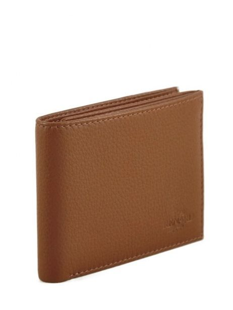 Wallet Leather Yves renard Brown 2307 other view 1