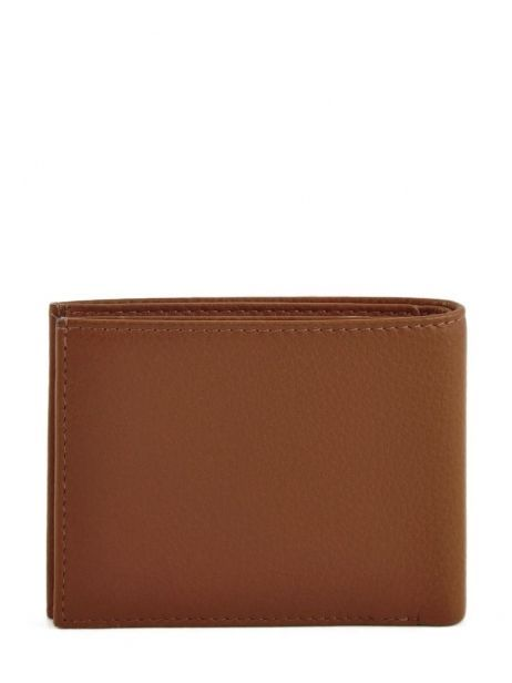 Wallet Leather Yves renard Brown 2307 other view 2