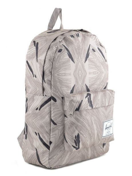 Backpack 1 Compartment Herschel Gray classics 10001 other view 3