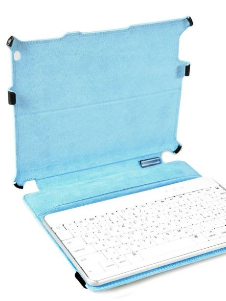 Tablet Cover Piquadro Black blue square AC2862B2 other view 4