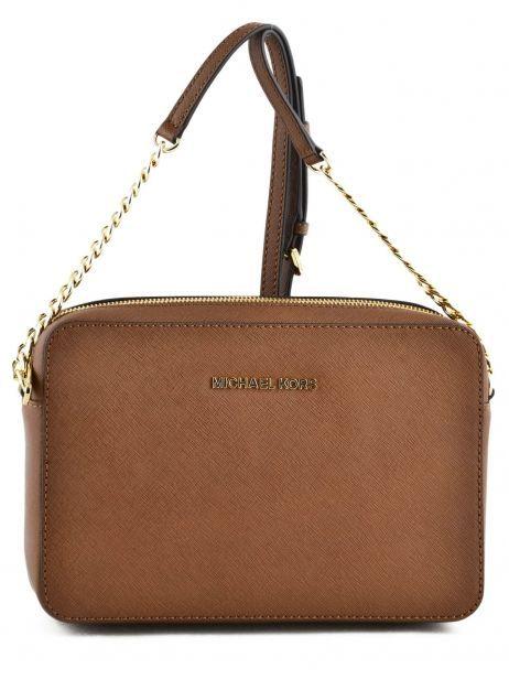 Crossbody Bag Jet Set Travel Leather Michael kors Brown jetset S4GTVC3L