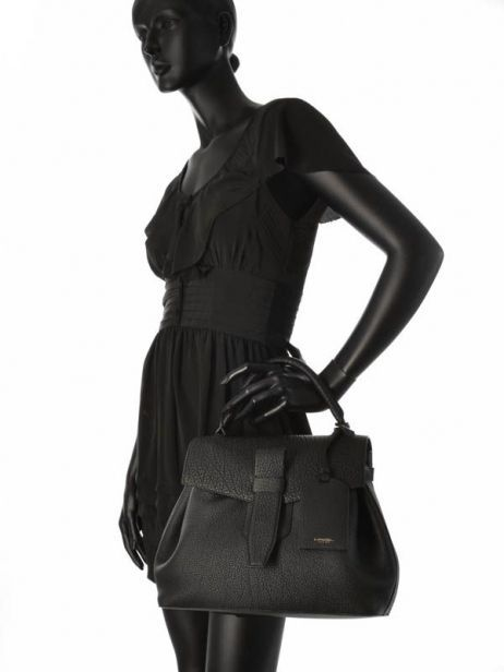 Top Handle Charlie Leather Lancel Black charlie A06838 other view 3