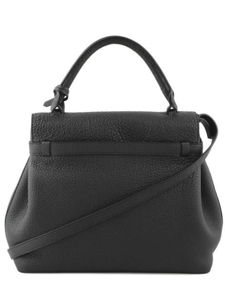 Top Handle Charlie Leather Lancel Black charlie A06838 other view 5