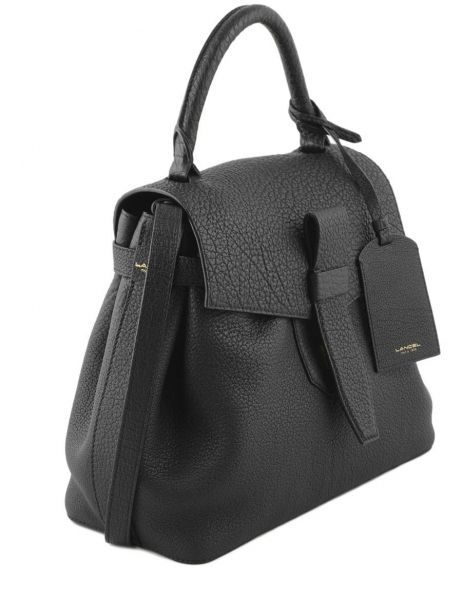 Top Handle Charlie Leather Lancel Black charlie A06838 other view 4