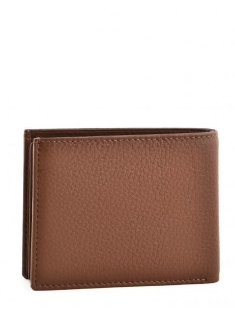 Wallet Leather Yves renard Brown veau foulonne 2375 other view 2