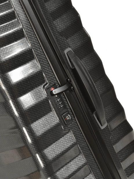 Valise Rigide Lite-shock Samsonite Noir lite-shock 98V002 vue secondaire 1