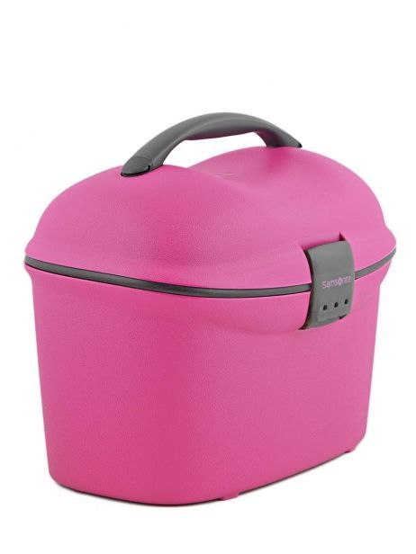 Beauty Case Hardside Samsonite Pink cabin collection V85002 other view 3