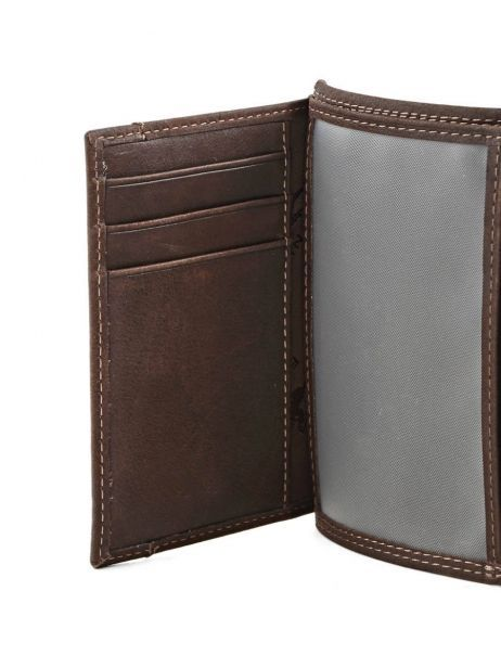Wallet Leather Francinel Brown 47988 other view 4