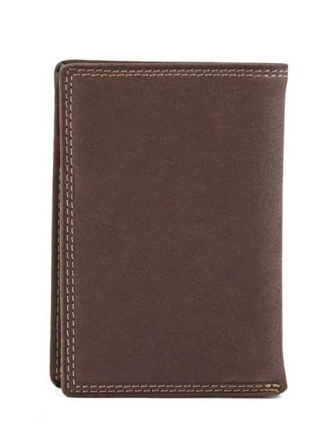 Wallet Leather Francinel Brown 47988 other view 2
