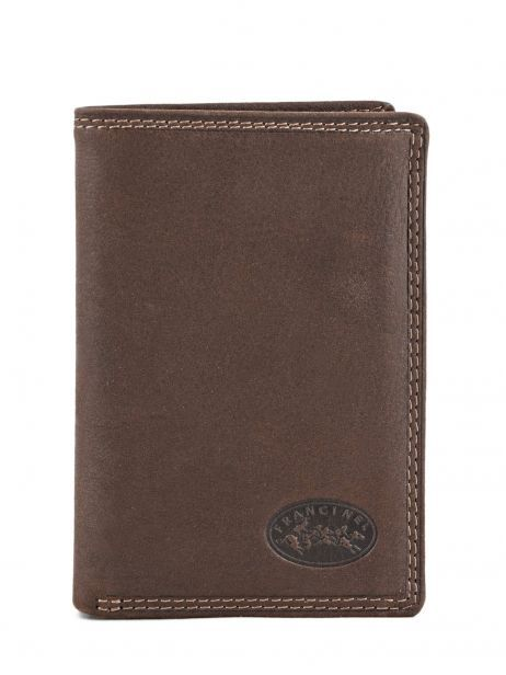 Wallet Leather Francinel Brown 47988
