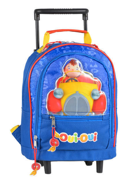 Wheeled Backpack Oui oui Multicolor car 1940CAR