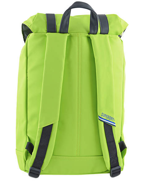Backpack 1 Compartment + 15'' Pc Superdry Green backpack U91006CN other view 5