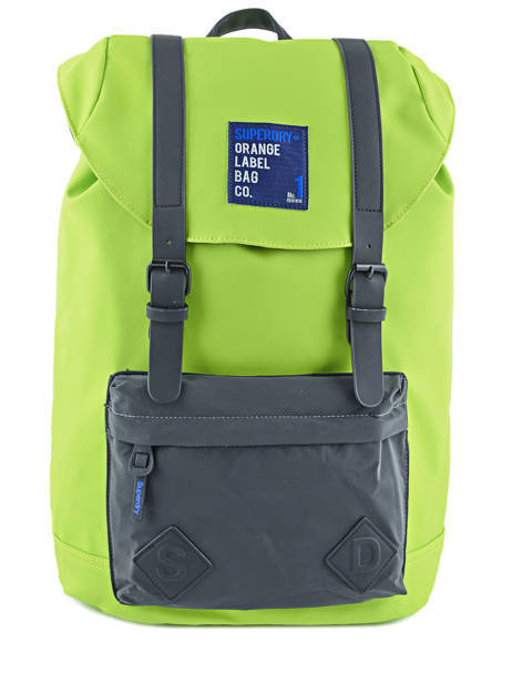 Backpack 1 Compartment + 15'' Pc Superdry Green backpack U91006CN