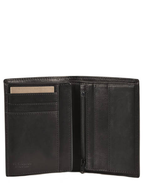 Wallet Leather Le tanneur Black gary TRA3312 other view 1