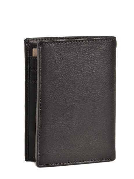 Wallet Leather Le tanneur Black gary TRA3312 other view 3