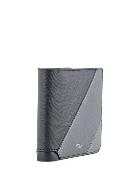 Card Holder Leather Tumi Gray mason 111633 other view 1