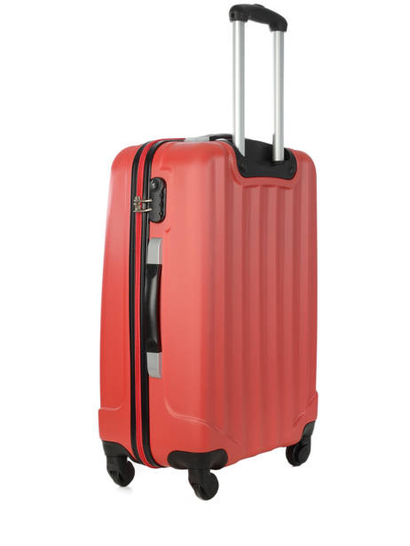 Valise Rigide Barcelone Travel Rouge barcelone IG1412-M vue secondaire 2