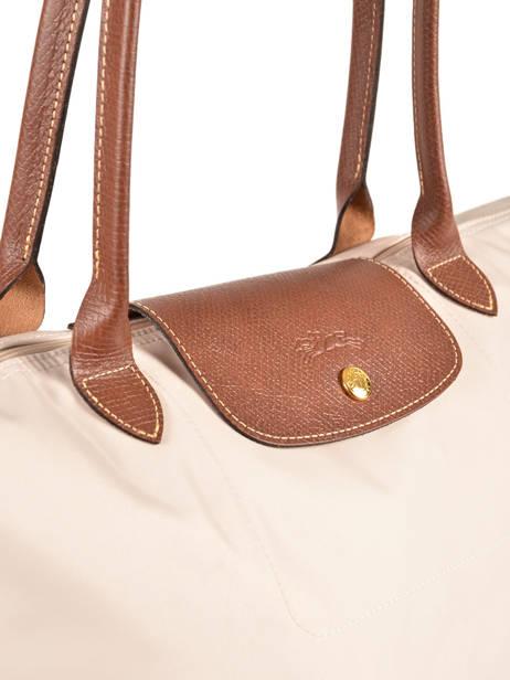 Longchamp Le pliage Besace Beige