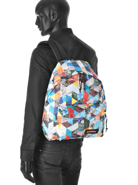 Sac à Dos 1 Compartiment A4 Eastpak Multicolore pbg PBGK620 vue secondaire 2