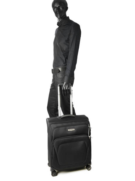 Cabin Luggage Samsonite Black spark sng 65N006 other view 2