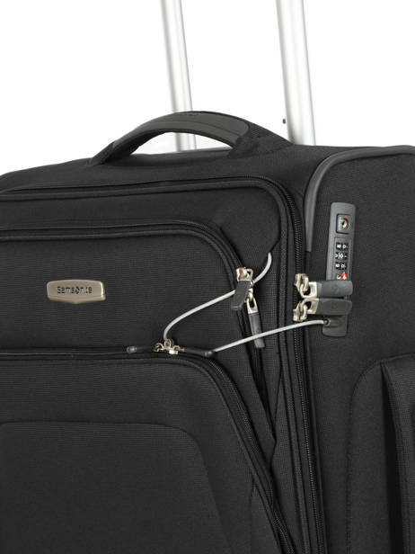 Cabin Luggage Samsonite Black spark sng 65N006 other view 1
