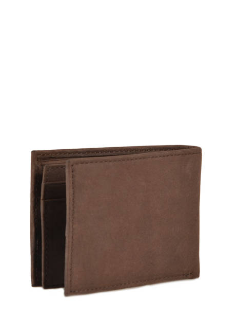 Wallet Leather Tommy hilfiger Brown johnson AM00662 other view 3