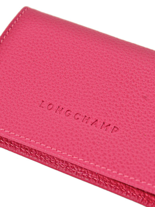 Longchamp Porte billets/cartes Rose