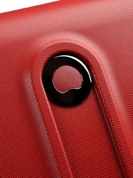 Valise Rigide Helium Classic 2 Delsey Rouge helium classic 2 3801820 vue secondaire 1