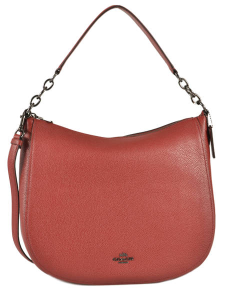 Shoulder Bag Coach Red chelsea 58036