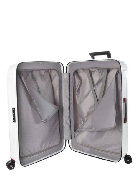Cabin Luggage Samsonite White neopulse 44D001 other view 5